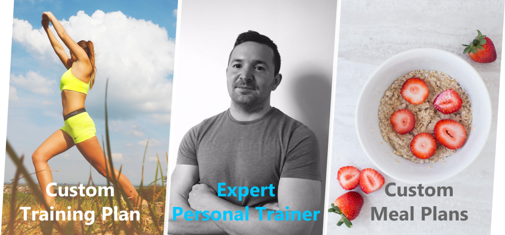 Personal trainer plans - training and nutrition plans